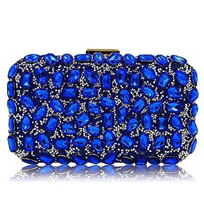 Women Handbags Lady Diamond Clutch Purse Chain Crossbody Evening Bag