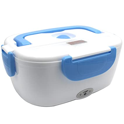 787441af81f7 Electric Lunch Box - Rerii Electric Heated Lunch Box, Food Warmer Lunch  Box, 1.05 Litre Capacity, Separate Removable Container, Heat-Resistant  Handle