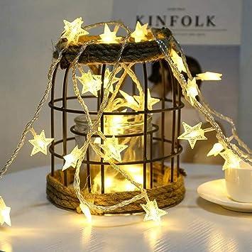 JUNMAONO Christmas Decoración, Guirnalda Luces Navidad, Luces Arbol Aavidad, Navidad Decoraciones, Adornos Navideños (6M): Amazon.es: Hogar