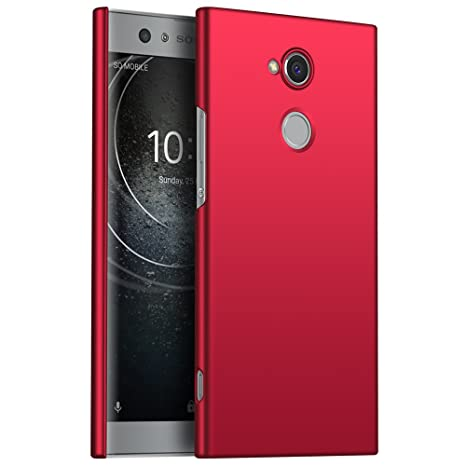 Sony Xperia XA2 Funda, Elegante Carcasa Dura Ultra Delgada Por GOGME, Cubierta De Teléfono Limpio Minimalista Anti-ralladuras Para Sony Xperia XA2. ...