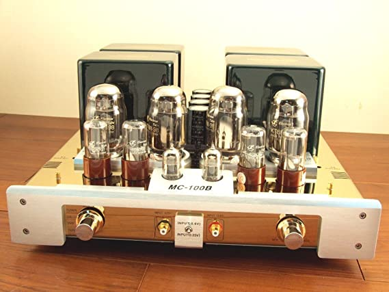 Yaqin Mc-100b Kt88 Vacuum Tube Hi-end Integrated Power Amplifier 110v-240v Gold