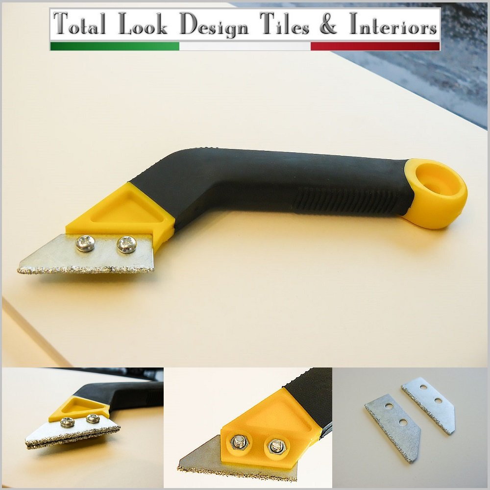 HEAVY DUTY SPARE BLADE TUNGSTEN FLOOR WALL TILE GROUT RAKE REMOVER CLEANER TOOL