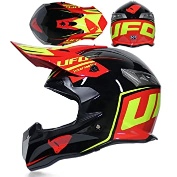 CFYBAO Casco Adulto Motocicleta Todoterreno Casco Fox Personalidad Creativa  Four Seasons Casco Equitación Racing Casco Full Face af24c6dc0bf