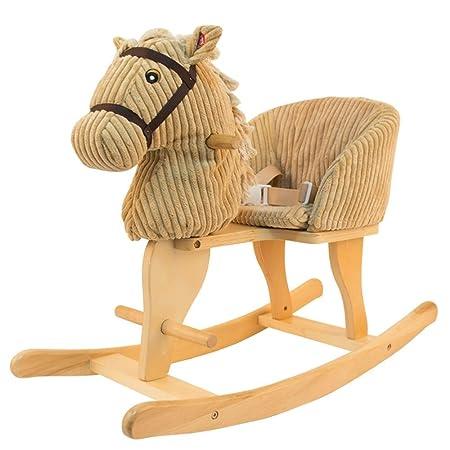 Silla de ocio infantil Caballo de madera para niños Caballo ...