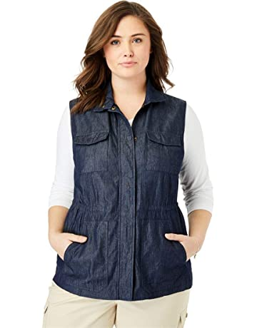 128e22e61fd Woman Within Women s Plus Size Utility Vest