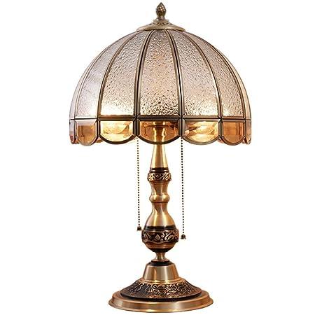 MJK Lámpara - Lámparas de mesa para decoración del hogar, cobre ...