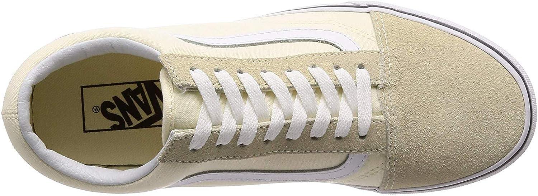 Vans Old Skool, Baskets Mixte Adulte Gum Block White