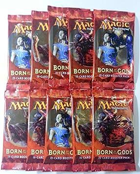 10 x Born of the Gods Booster Inglés MTG Magic the Gathering: Amazon.es: Juguetes y juegos
