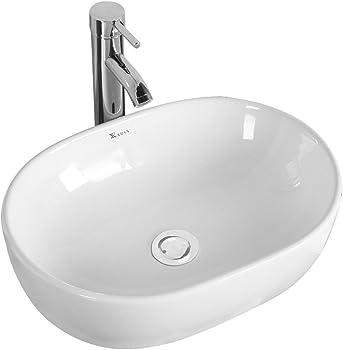 Basong Above Counter Bathroom Sink