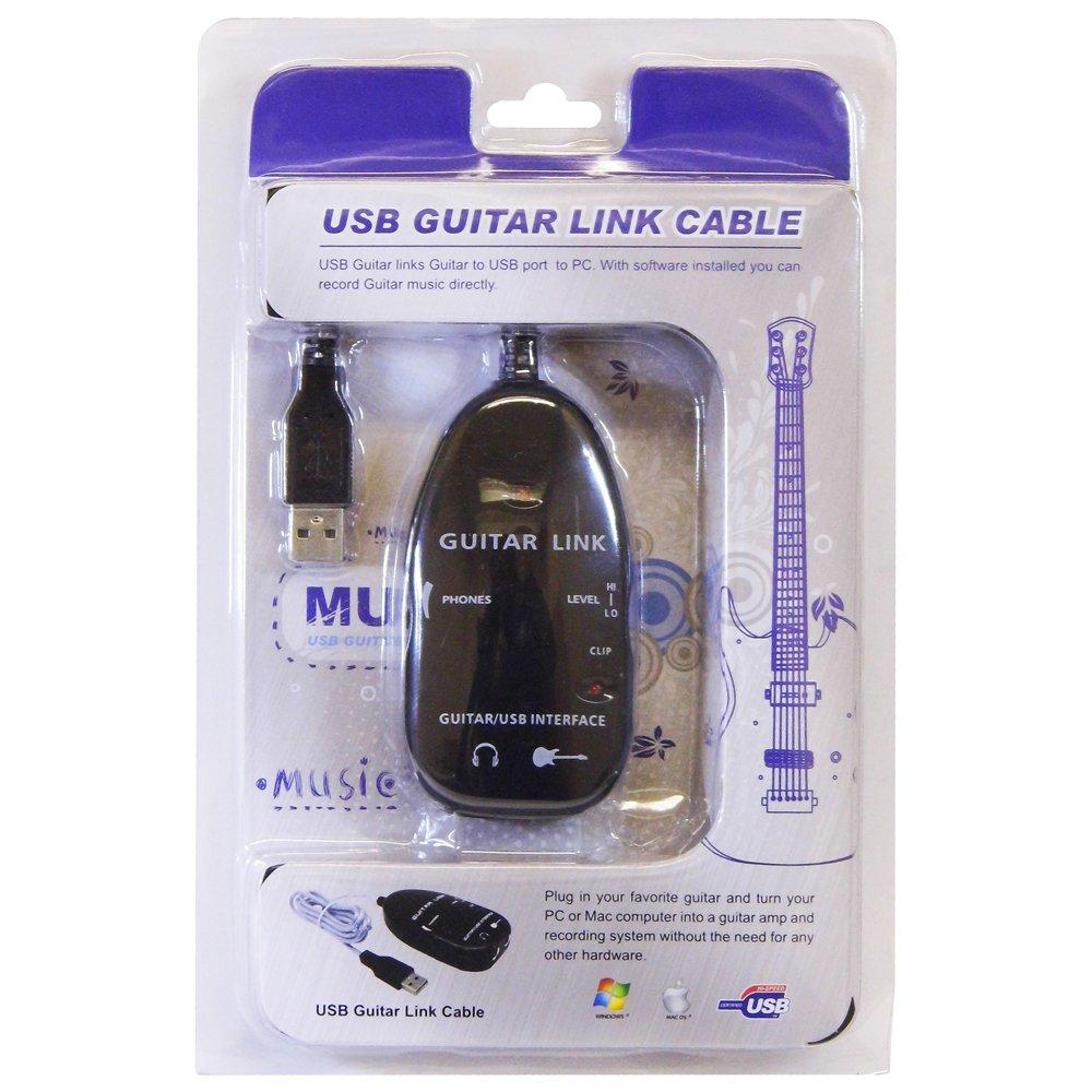 HCL - Cable de Audio USB para conectar Guitarra a Ordenador o Mac: Amazon.es: Informática