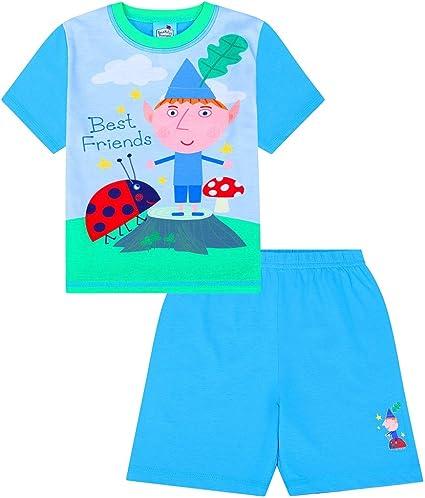 Boy/'s Ben and Holly Little Kingdom Pirates Adventure  Short Pyjamas
