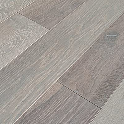 Cicerone French White Oak Collection Engineered Hardwood Floor - Sample Only