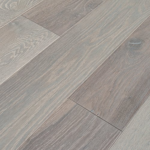 Cheap  Cicerone French White Oak Collection Engineered Hardwood Floor (Sample Only) (Cicerone Saison)