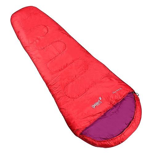 Gelert Elen 300 Saco de dormir Tipo Momia Aire Libre Frambuesa Talla única: Amazon.es: Zapatos y complementos