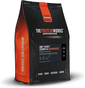 The Protein Works – Proteína para Maigrir Advanced con coctelera gratuitos y cucharas – Ideal para un tipo bajo en calorías – Saveurs naturales – 500 ...