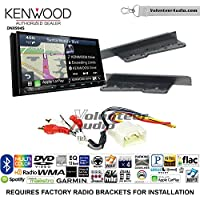 Volunteer Audio Kenwood Excelon DNX994S Double Din Radio Install Kit with GPS Navigation Apple CarPlay Android Auto Fits 2003-2009 Toyota 4Runner, 2000-2005 Toyota Celica, 2000-2005 Toyota MR2 Spyder