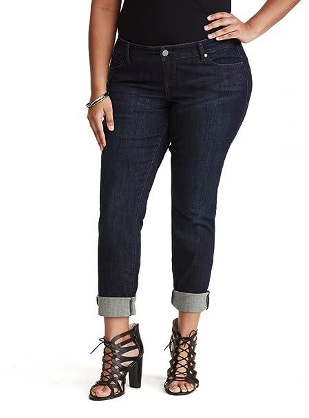 abeb5fcd398 Torrid Boyfriend Jeans - Dark Wash  Amazon.ca  Clothing   Accessories