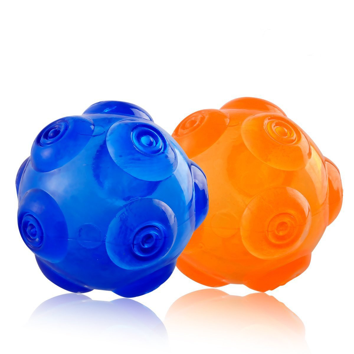 74fba03b8c3 Pet Supplies   Squeaky Dog Balls Dog Chew Toys Ball Perfect Size Durable  Rubber Dog Toy Pet Ball Rubber Interactive Training Toys for Small Medium  Large ...