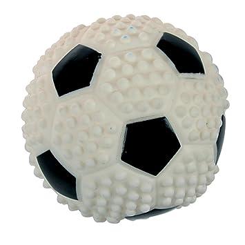 96604fd1ea0e Zolux Jouet Balle de Foot en Vinyle pour Chien Diamètre 7,6 cm ...