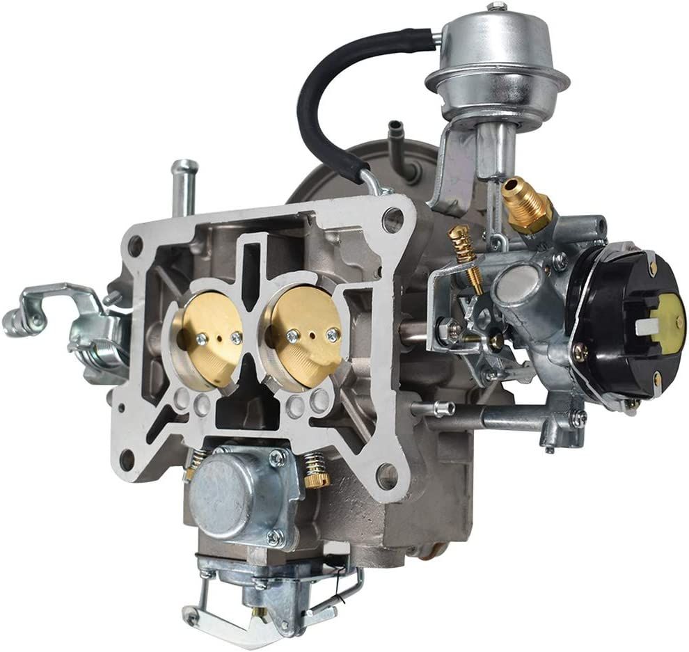WFLNHB New 2 Barrel Carburetor Carb 2100 A800 for Ford 289 302 351 Cu Jeep Engine 1964-1978