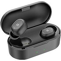 Auriculares Bluetooth 5.0, SoundSOUL Mini TWS Auriculares Inalámbricos Estéreo XFree In-Ear Cascos Bluetooth IPX4 Impermeable Manos Libres Micrófono Integrado con Caja de Carga Portátil