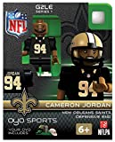NFL New Orleans Saints NFL Generation 2 Series 1 Minifigure Cameron Jordan