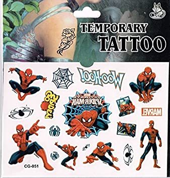 Amazon.es: Sheet of Tattoos - Perfect for Party Bags - Frozen ...