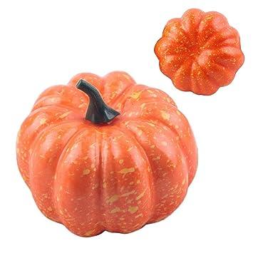 Beau Sunshine D 16 Pcs Halloween Citrouille Artificielle Faux Réaliste Mini Citrouille  Pour Lu0027automne Thanksgiving