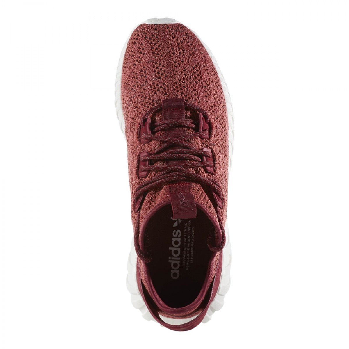 a585bf3e1274 adidas Men Tubular Doom Sock Primeknit red Mystery red Collegiate Burgundy  Crystal White Size 4.5 US