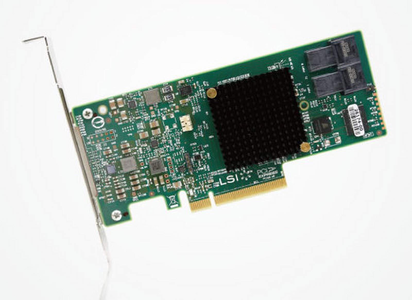 LSI Logic MegaRAID SAS 9341-8i SGL LSI00407