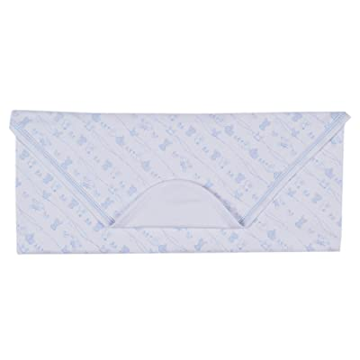 Kissy Kissy Baby-Boys Infant Bunny Tails Print Receiving Blanket