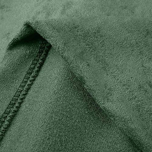 Manteau Pullover Blouson Blouse À Veste Up Hiver Femme Tops Rivet Zipper Shobdw Hoodie Rétro Décontracté Capuche Vert Mode Sweatshirt fqRvwxt