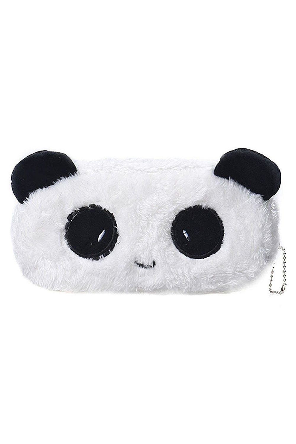 Beauty*Top*Picks NEW Cute Cartoon Kawaii Pencil Case Plush Large PEN BAG Kids School Supplies (panda)
