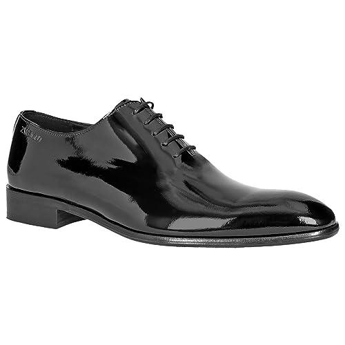Piekfein105 Wholecut Zweigut® Original Schuh Oxford Hamburg Lack Herren Leder KJ1clF