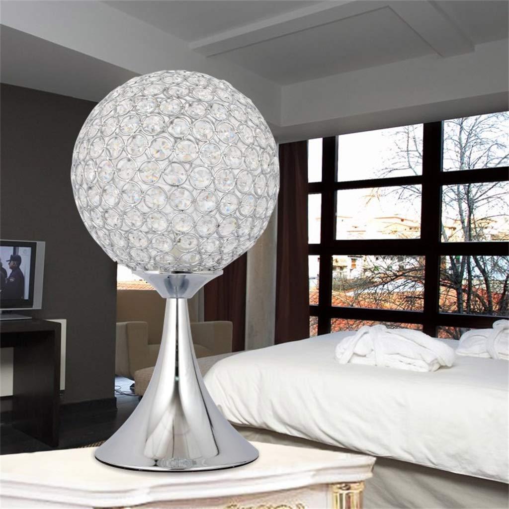 Einfache Moderne kreative warme Kristall Tischlampe Schlafzimmer Schlafzimmer Schlafzimmer Nacht Persönlichkeit Hochzeit Zimmer niedlich B07GLT1S1M | Authentisch  89579b