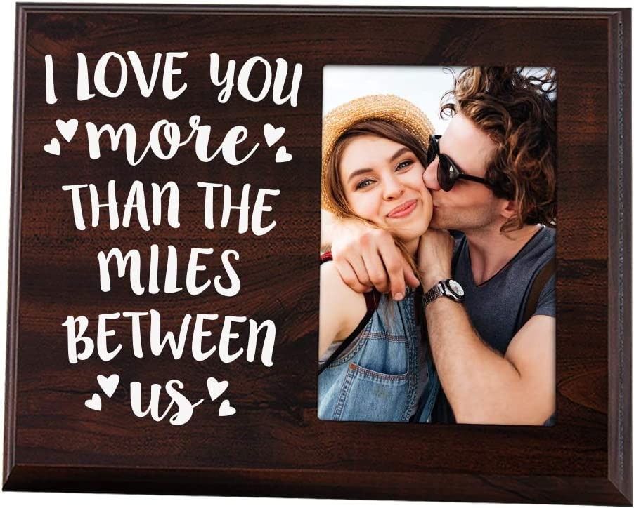 Going Away Couples Picture Frame
