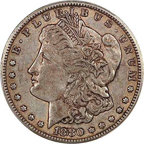 1880 CC Morgan Dollars Reverse of 1879 Dollar XF45 PCGS ()