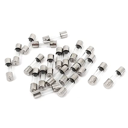 20Pcs 250V 3A F3AL Quick Blow Glass Tube Fuses 5 x 20mm