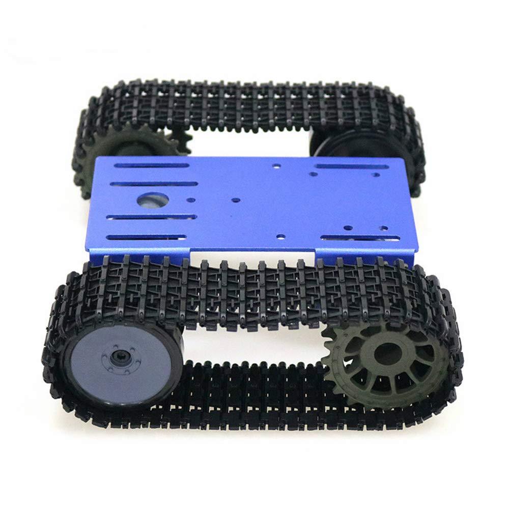 Robot sur chenilles Smart Car Platform Robot Kits Robot Tank Chariot sur Chenilles Kit DIY Kit Solide Plate-forme Robotique Tank Plate-forme Mobile Plateforme Robotique Jouet Plate-forme pour Arduino