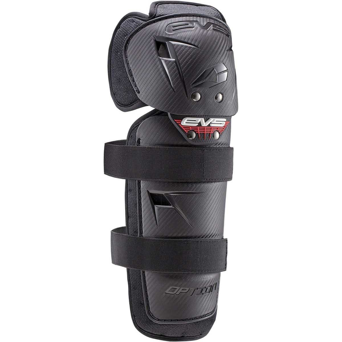 EVS 2016 Option Adult Knee Guard Off-Road Motorcycle Body Armor - Black/One Size by EVS Sports (Image #1)