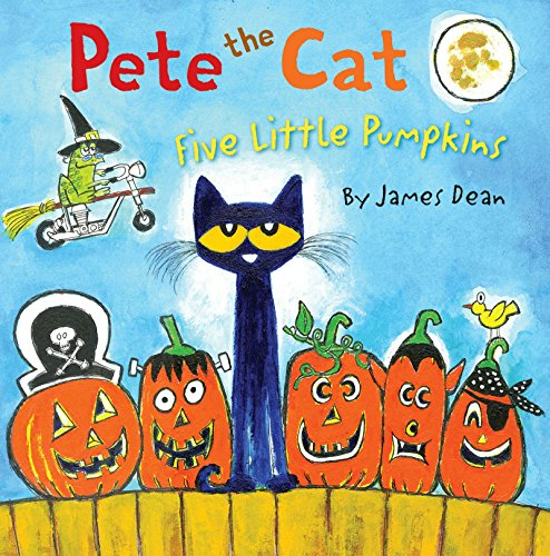 Pete the Cat: Five Little Pumpkins]()