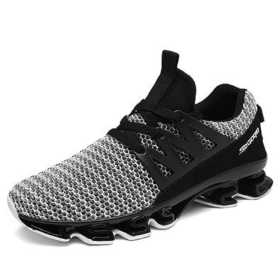 8629b4fea7b5 Qianliuk Herren Mesh Sneakers Sommer Outdoor Elastische Sohle Sportschuhe  Atmungsaktive Bequeme Schuhe
