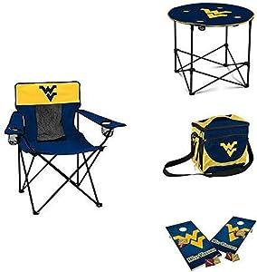 NCAA West Virginia Mountaineers Small Tailgate Set