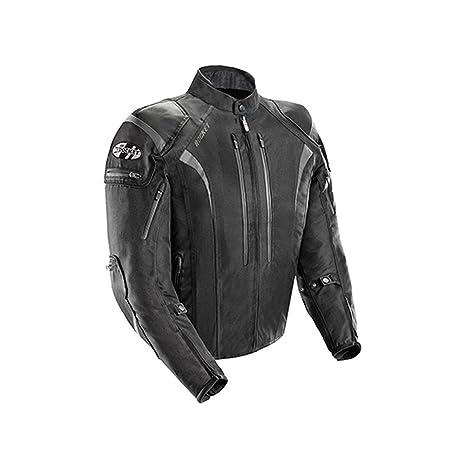 Joe Rocket Atomic Men S 5 0 Textile Motorcycle Jacket Black Large