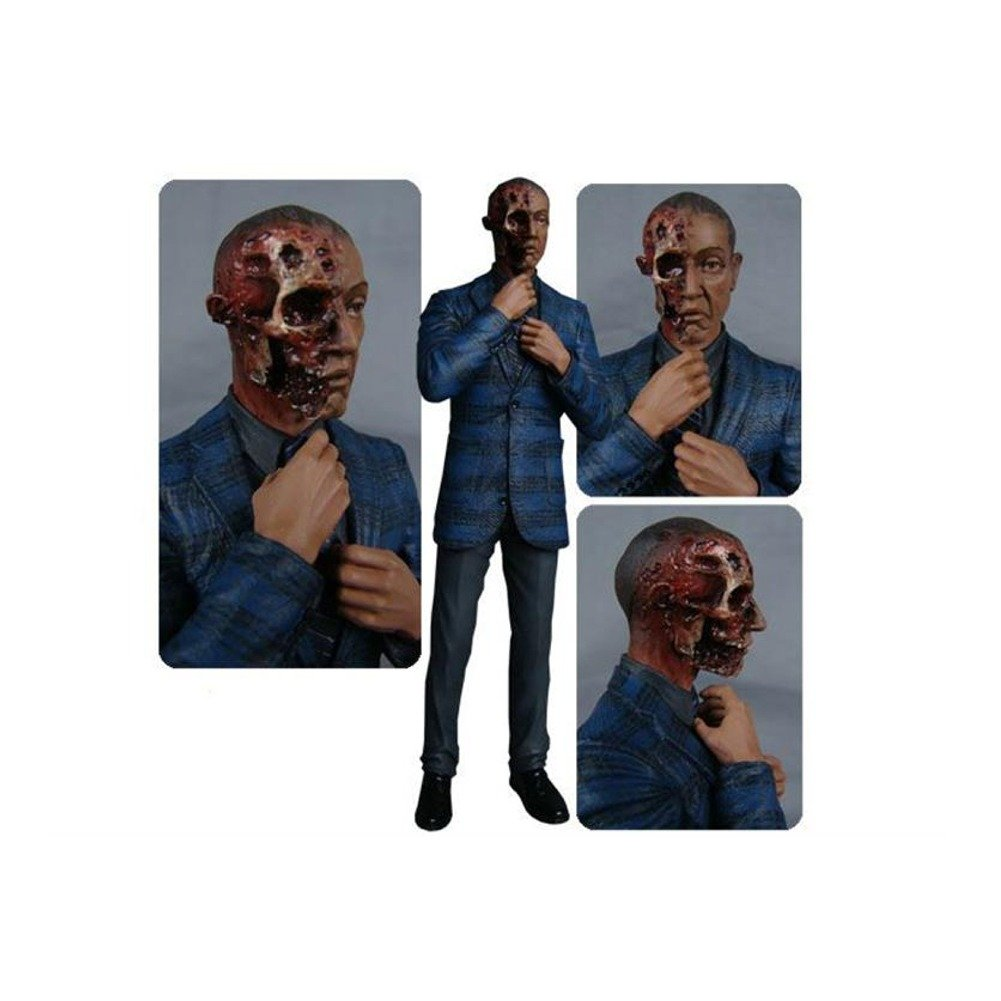 Amazon.com: Breaking Bad Gus Fring Burned Face Action Figure ...
