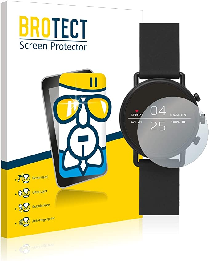 BROTECT Protector Pantalla Cristal Compatible con Skagen ...
