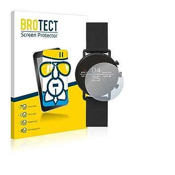brotect Protector Pantalla Cristal Compatible con Skagen Smartwatch Falster 2 (40 mm) Protector Pantalla Vidrio Dureza 9H AirGlass