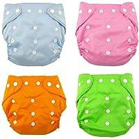 Andyshi bebé cómodo reutilizables pañales de tela ajustable