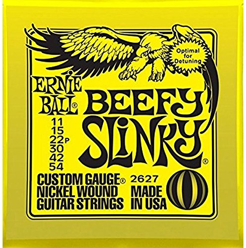 Ernie Ball Beefy Slinky 2627 Electric Guitar Strings 3 ()