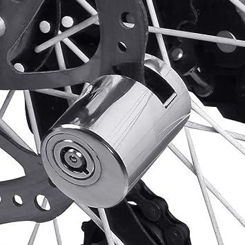 Bloqueo de freno de disco de bicicleta, resistente al agua ...
